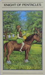 PENTACLES knight of