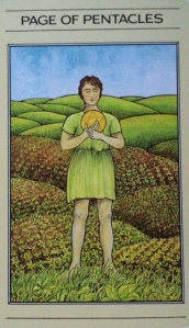 PENTACLES Page of